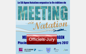 Meeting : inscription des officiels